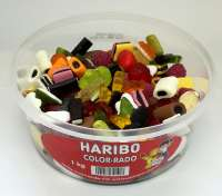 Haribo Color-Rado, in der Frischebox, Fruchtgummi & Lakritz